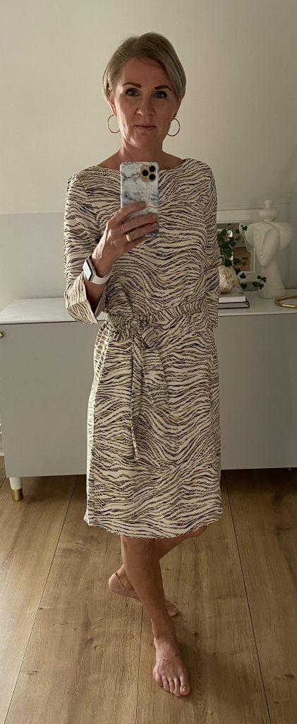 Bild på mig i klänning