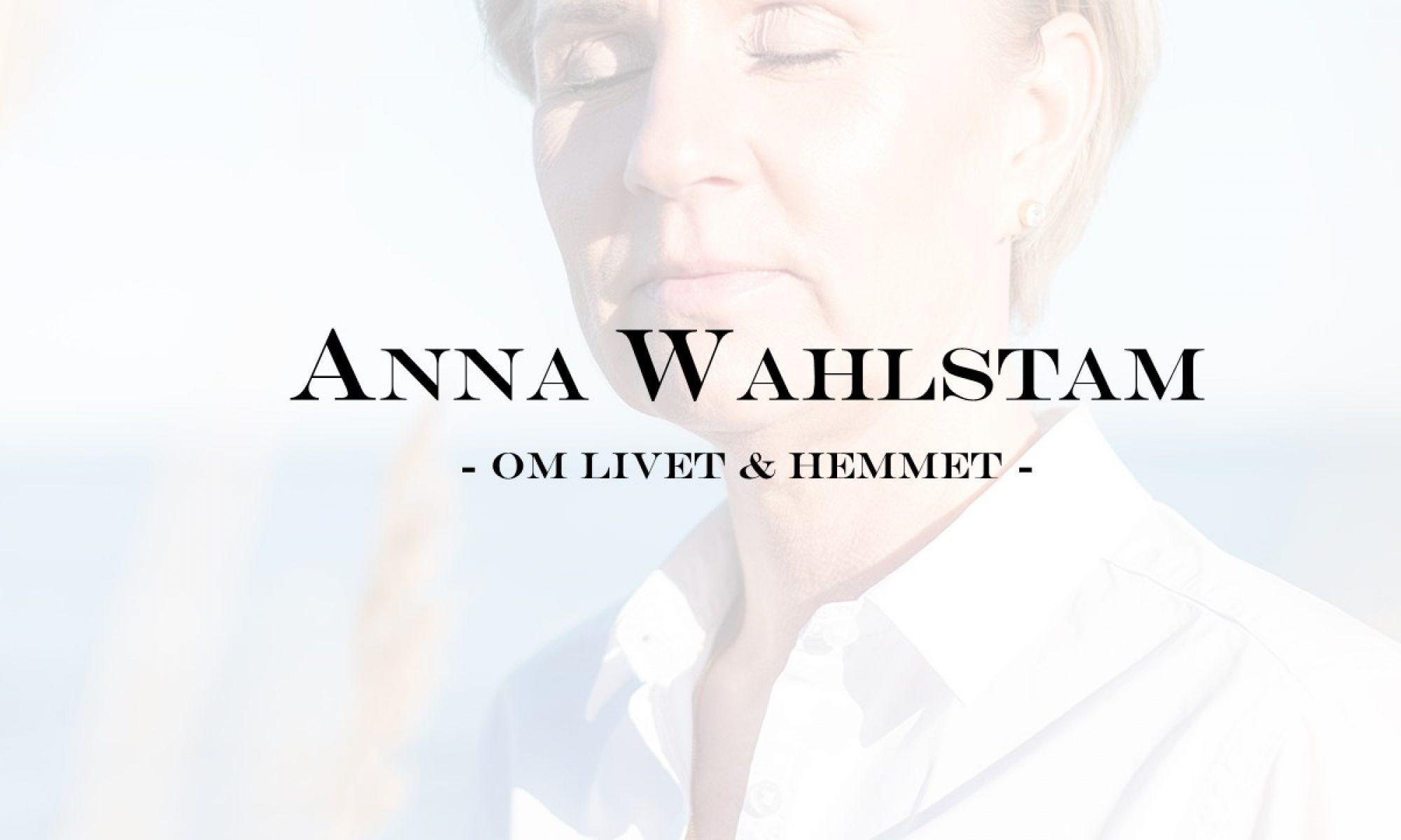 Anna Wahlstam