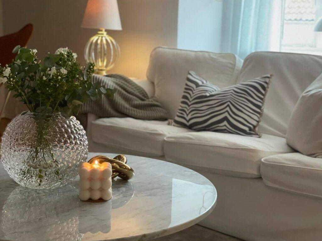 Classic collection kudde titanium vardagsrum soffa svenskttenn knut cooee oxtable klassikt